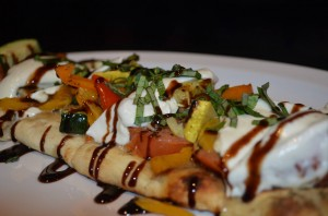 Grilled Vegetable Flatbread Dinner Special!